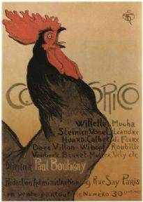 Cocorico - Vintage French magazine cover poster